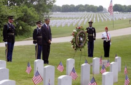 Obama SAD Dan sjećanja vojnici