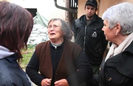 Jadranka Kosor poplave