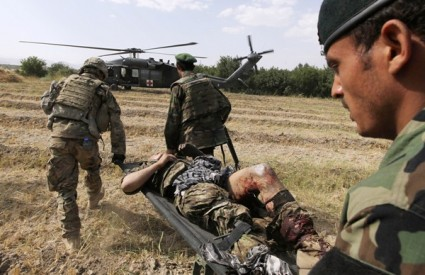 vojska afganistan ranjenik