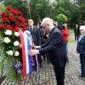 Ivo Josipović položio vijenac kod grobnice u Teznom