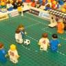 Lego kocke igraju nogomet, SAD-Engleska