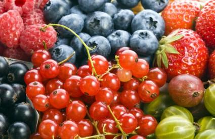 Smrznuto bobičasto voće nije lošije od svježeg