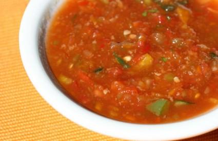 Gazpacho juha idealna je za vurćine