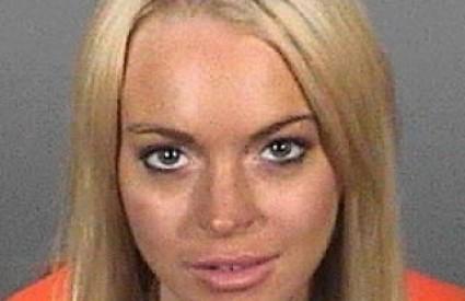 Lindsey Lohan opet u zatvor