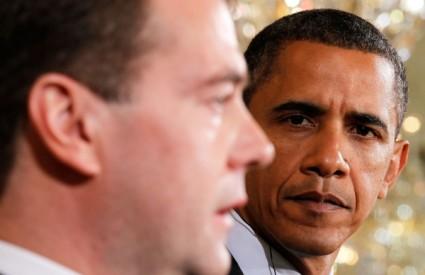 Dmitrij Medvedev i Barack Obama