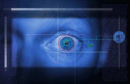oči skeniranje detektor laži