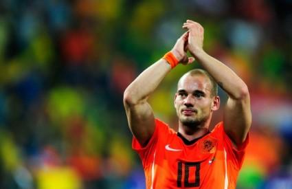 Sneijder je gađao vratnice