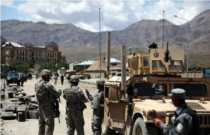 Kabul pod raketnim napadom