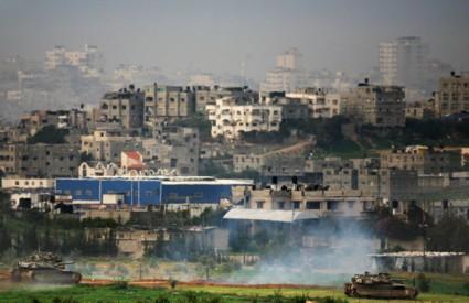 Strahote se događaju u pojasu Gaze