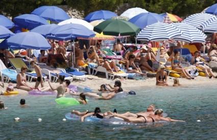 Plaža na Jadranu