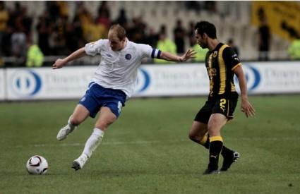 Hajduk je izgubio od AEK-a 1:3