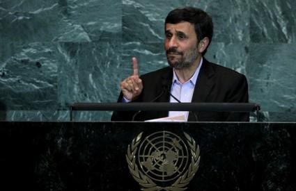 Ahmadinedžad će sigurno održati još jedan nezaboravan govor