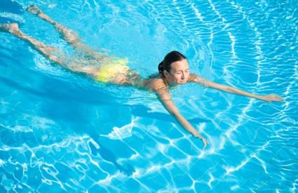 Plivanje je genijalno za zdravlje