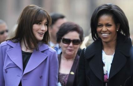 Carla Bruni i Michelle Obama