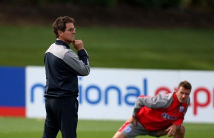 Fabio Capello i David Beckham