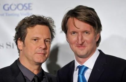 Colin Firth i Tom Hooper