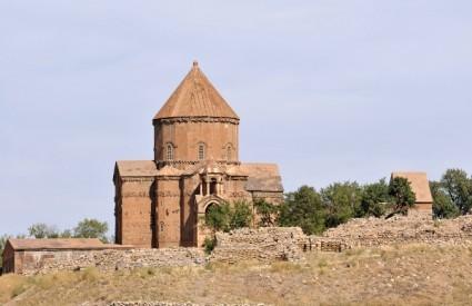 Armenska crkva na otoku Akdamar