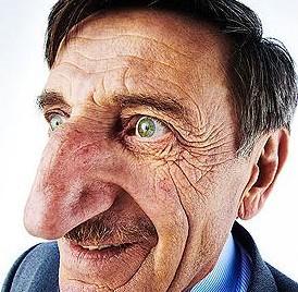 Buntovnički nos u prvom planu :)