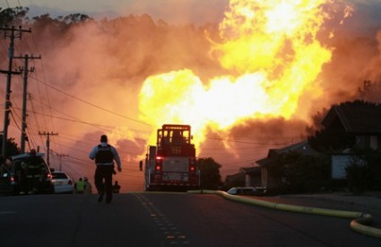 San Francisco u plamenu