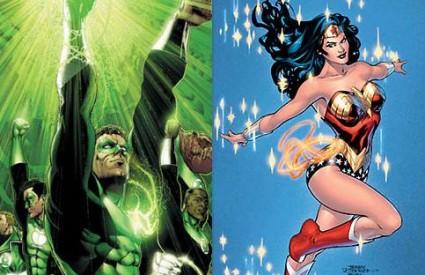 Green Lantern i Wonder Woman