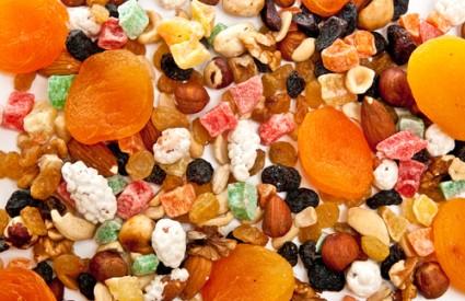 Suho voće ima gomilu kalorija