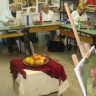 Keramika, kiparstvo, crtanje i slikanje u KC Peščenica