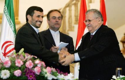 Ahmadinedžad i Talabani