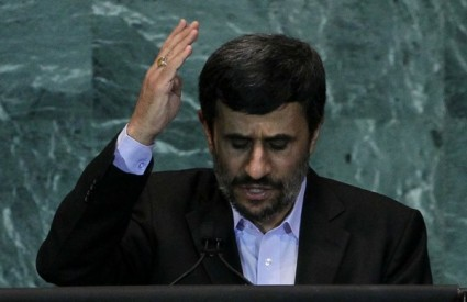 Mahmud Ahmadinedžad za mir i ljubav