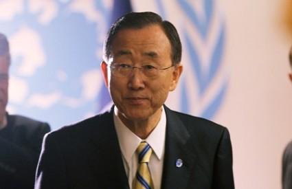 Ban Ki-moon ne odustaje od Sirije