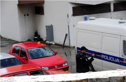 Solin: U dvorište policijske postaje bačena eksplozivna naprava