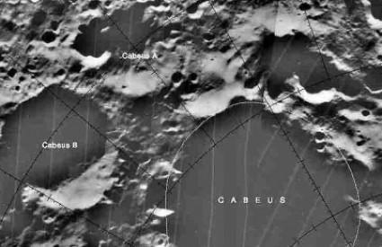 Mjesečev krater Cabeus