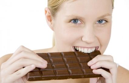 Povremeno smijete navaliti na čokoladu :)
