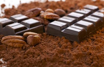 Tamna čokolada bogata je kalorijama :)