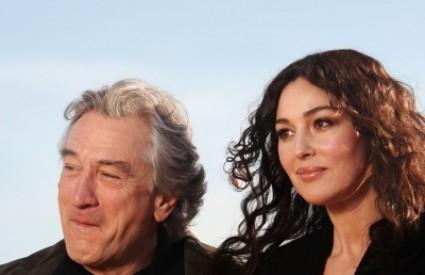 Robert de Niro i Monica Bellucci