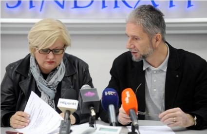 Jadranka Dumbović i Krešimir Sever