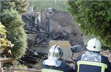 U eksploziji u kući na Gračanskoj cesti ozlijeđena jedna osoba