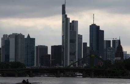 Frankfurt, jedno od najvećih svjetskih financijskih središta