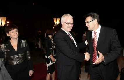 Ivo Josipović i Milan Štrljić