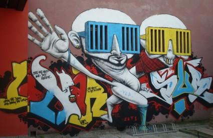 grafiti KCP