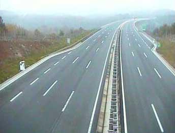 Magla smanjuje vidljivost na autocestama
