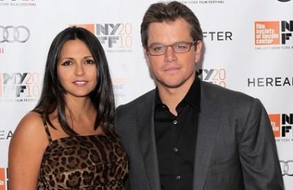 Matt Damon i Luciana