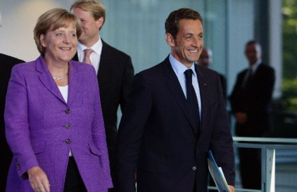 Merkel i Sarkozy žele spasiti Uniju