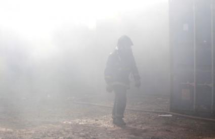 Vatrogasci imaju pune ruke posla