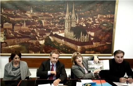 Jelena Pavičić Vukičević, Milan Bandić, Jadranka Veselić Bruvo i Nenad Fabijanić
