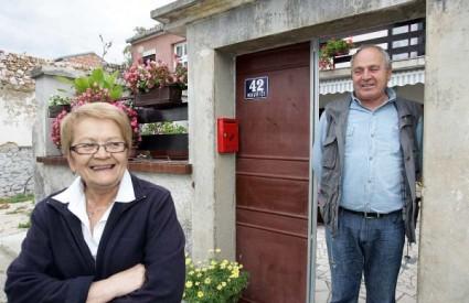 Stilinovi roditelji Smilja i Tomislav