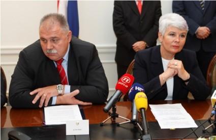 Ivan Šuker i Jadranka Kosor