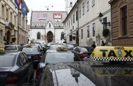 Taksiste je razljutila odluka Skupštine