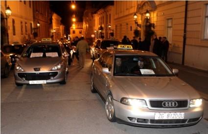 Zagrebački taksisti