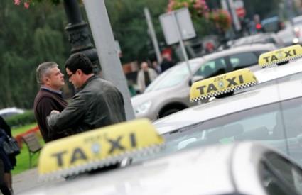 Zagrebački taksisti ponovno idu u štrajk