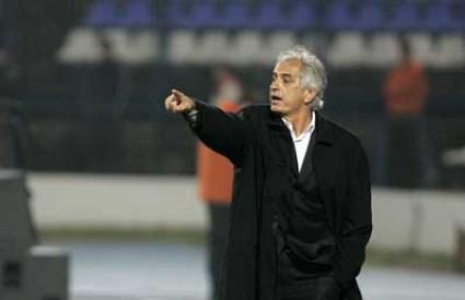 Vahid Halilhodžić udaljen je s klupe